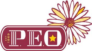 P.E.O. Primary Logo JPG - CMYK Color - 10x10